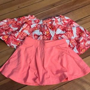 Lot of baby girl skirts NWT